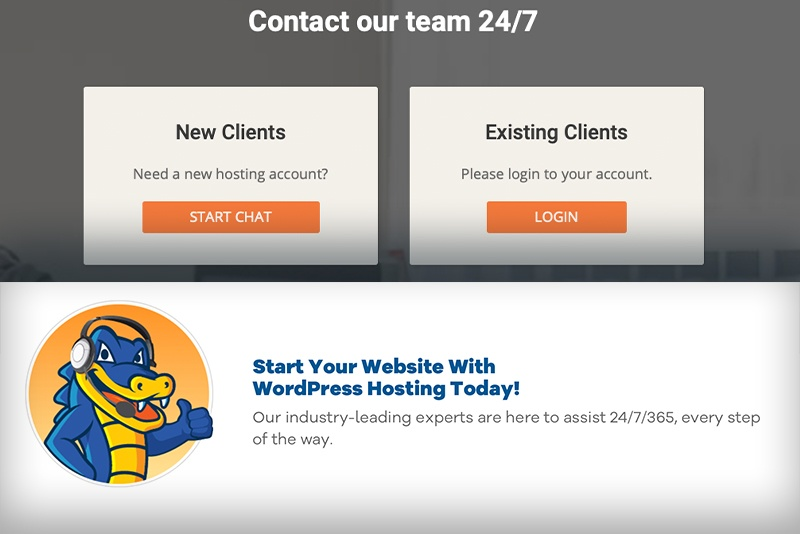 SiteGround vs HostGator: Contact