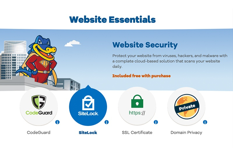 SiteGround vs HostGator: HostGator Security
