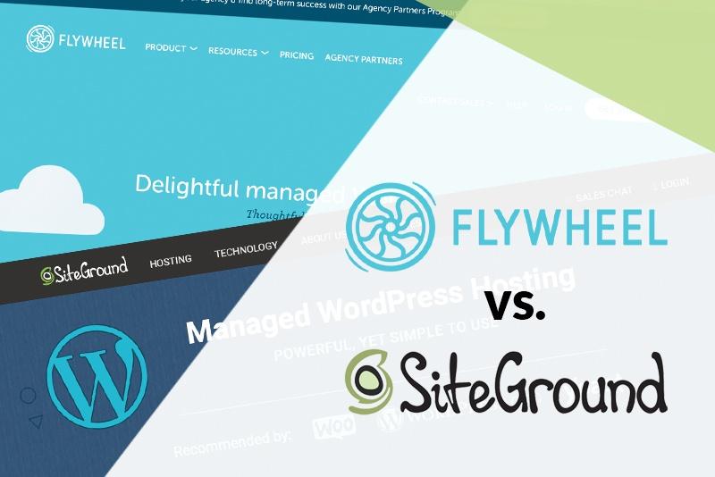 Flywheel vs SiteGround: Cover Image